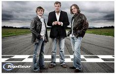 Top Gear ~ Jeremy Clarkson, Richard Hammond, James May, The Stig. The new one starring Chris Evans & Matt LeBlanc SUCKS!!!