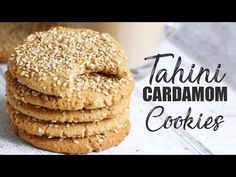 Tahini Cardamom Cookies (Vegan & Gluten-free) A crunchy cookie flavoured with cardamom, cinnamon and tahini. I created these tahini cardamom cookies especially for Eid (which is thisSunday/Monday depending on the sighting of the moon). This is the third year in a row where I make a cookie recipe to celebrate Eid. A couple of years ago I made my healthified ... Read More