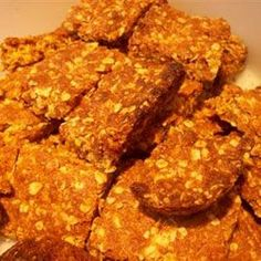 Old-Fashioned Crunchies - omg - just like my Mom used to make! My Recipes, Sweet Recipes, Dessert Recipes, Cooking Recipes, Favorite Recipes, Recipies, Cake Recipes, Clean Recipes, South African Dishes