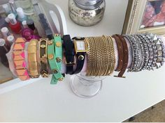 DIY bracelet holder. I need this