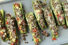 Try these Cheese Stuffed Zucchini for an appetizer that requires little prep but delivers lots of flavor.