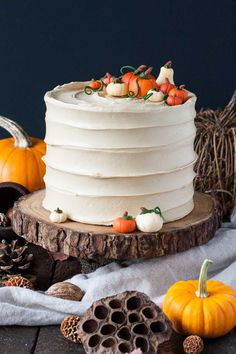 Pumpkin Spice Latte Cake | http://livforcake.com