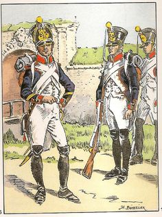 French; 30th Line Infantry. Fusilier Sergeant & Fusiliers, 1810