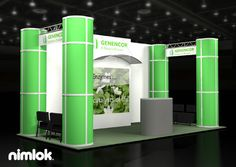 Nimlok designs trade show booths and biotechnology exhibits. For Genencor, we met their marketing needs with a 10x20' custom booth solution.