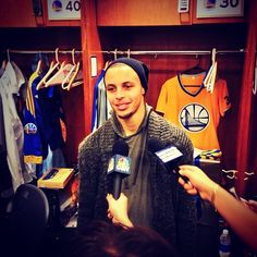 """""""You can call it whatever you want. It's just two teams competing."""" Stephen Curry on whether this is a rivalry"""