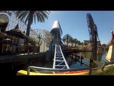California Screamin' at Disney California Adventure, POV Ride Video in 1080p HD
