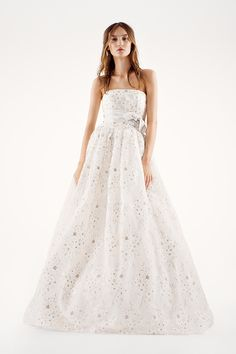 Wedding gall gown from: Vera Wang 2015 Spring Collection