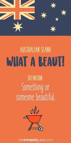 Australian slang: 31 hilarious australian expressions you should use Australian Slang, Australian English, Australia Day, Australia Funny, Iconic Australia, Western Australia, Australian Expressions, Aussie Memes, Vibe Video