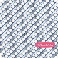 30's Playtime Sea Bias Dotted Stripe Yardage SKU# 32785-12