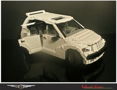 Lego PT Cruiser https://www.flickr.com/photos/the_rolic/5395412749