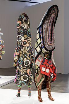 fabric art sculpture - Google Search