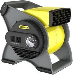 Stanley Pivoting Multi Speed High Velocity Portable Floor Shop Blower Fan 65570 #LaskoProductsInc