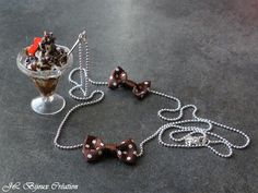 Sautoir coupe glace en fimo : Collier par jl-bijoux-creation
