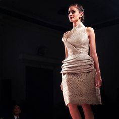 Shape Cut Silhouette. SEBASTIANGUNAWAN #CrystalBeauty collection in collaboration with SK II at Dharmawangsa Hotel, Make-up and Hair by @adiadrian_ds and team. #SebastianGunawan #SK2 #crystal #runway #fashionshow #potd #instafashion #instadaily #iphonesia #indonesiandesigner #couture #white #elegance #beauty #fashion #style #dress #evening #model - @SebastianGunawan- #webstagram