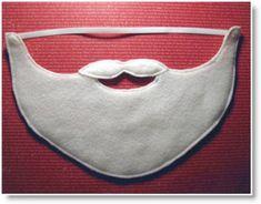FREE Felt Food Pattern and Easy Santa Beard
