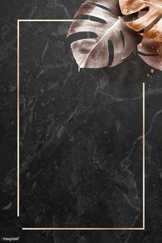 Rectangle gold frame with metallic monstera leaf background vector | premium image by rawpixel.com / Adj #vector #vectoart #digitalpainting #digitalartist #garphicdesign #sketch #digitaldrawing #doodle #illustrator #digitalillustration #modernart #frame #leaves
