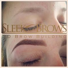 My favourite transformation so far. Absolutely love this set of Sleek 3D brow building Brows. Sculpt and Build, beautiful finish! Before and after!