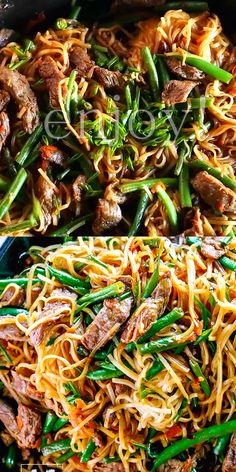 30 Minute Gluten-Free Beef Lo Mein 30 Minute Gluten-Free Beef Lo Mein Recipe – this dinner meal is bursting with delicious flavor. Made of Flank steak, crunchy green beans, grated carrot and amazing sauce to complete this Chinese dish. Healthy Chicken Dinner, Easy Healthy Dinners, Healthy Chicken Recipes, Vegetarian Recipes, Seitan Recipes, Healthy 30 Minute Meals, Grilling Recipes, Health Food Recipes, 30 Minute Dinners