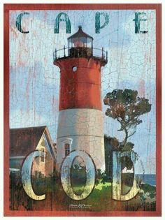 Cape Cod #Lighthouse Poster http://dennisharper.lnf.com/