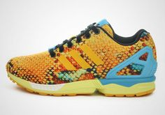 76a089abee678 adidas Originals ZX Flux Tropical Scales