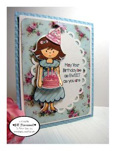Greenwood Girl Cards: Paper Sweeties March Inspiration Challenge #29 - 'Waiting For Spring' + Cupcake Inspirations 300th Challenge Celebration!