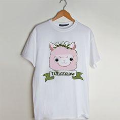 Whatever Alpaca t shirt men and t shirt women by fashionveroshop