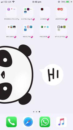 Iphone Layout, Phone Organization, Utila, Backrounds, Homescreen, App Design, Iphone Wallpaper, Phones, Wattpad