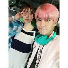 Heo young ji and boys republic´s suwoong