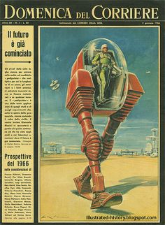 Domenica del Corriere - 2 Gennaio 1966 (da Illustrated History - Domenica del Corriere)