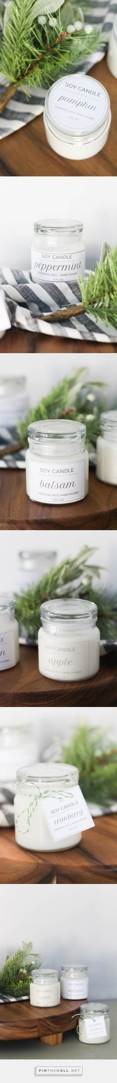 Candle labels you can make at home