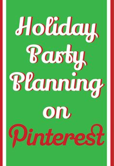 Holiday Party Planning on Pinterest | HelloSociety Blog #Christmas