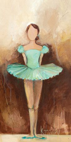 Belle of the Ballet Canvas Art