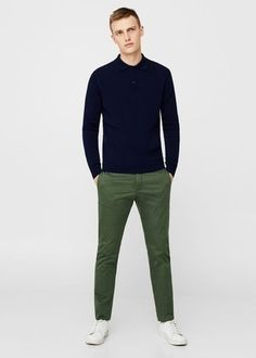 How to Wear Olive Chinos looks & outfits) Green Chinos Men, Olive Chinos, Dark Green Pants, Olive Green Pants, Pantalon Vert Olive, Chinos Men Outfit, Chinos Women, Capsule Wardrobe Men, Olive Pants Outfit