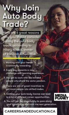 Six reasons that women should consider joining the auto body trade as a career from the owner of an all-women staffed shop!