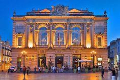 l'Opéra Comédie à Montpellier