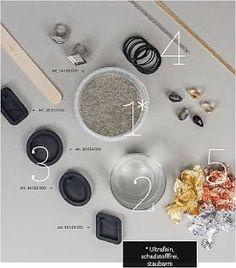 Betonschmuck ist Ultrafein, schadstofffrei & staubarm. Der neue Schmuckbeton von Rayher. Schmuck-Beton ist verblüffend leicht & angenehm zu tragen & mit vielen Materialien zu kombinieren.