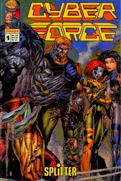 Cyberforce / Cyber Force Comic Nr. 1 (Buchhandelausgabe) von Splitter | http://www.cyram-entertainment.de/shop/products/Buecher-Comics-Magazine/Comics/Cyberforce/Cyberforce-Nr-1.html