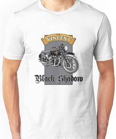 Vincent Black Shadow Unisex T-Shirt