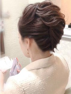 Bun Hairstyles, Wedding Hairstyles, Neck Designs For Suits, Dream Engagement Rings, Updos, Hair Beauty, Hair Styles, Makeup, Up Dos