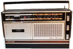 """The Philips """"Radio Recorder"""" from 1969 is thought of as the world's first boombox."""