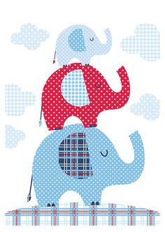 Si no quieres que publiqué tu pin dímelo y lo borró/If you do not want me to publish your pin, tell me and delete it. Elephant Quilt, Elephant Nursery, Baby Quilts Easy, Cartoon Elephant, Baby Posters, Animal Quilts, Baby Burp Cloths, Small Quilts, Kids Prints