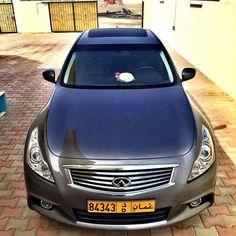 Infiniti G 37 2011 Muscat 175 000 Kms  5800 OMR  Tariq 95589004  For more please visit Bisura.com  #oman #muscat #car #classified #bisura #bisura4habtah #carsinoman #sellingcarsinoman #infiniti #infinitig37