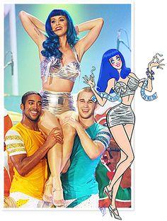 Katy Perry California Dreams Costumes