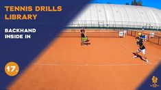 Top tennis drills: Backhand inside in Tennis Videos, Drills, Upper Body, Improve Yourself, Basketball Court, Top, Free, Drill, Crop Shirt