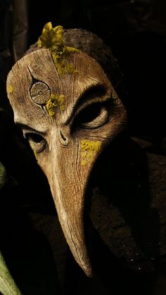 """Plague Doctor (Summer by ~GorillaEye)    Plague Doctor mask. Character design inspiration for """"The Mortician."""""""
