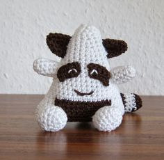 The Onigiri Raccoon - Free Amigurumi Pattern (Scroll Down) here: http://stephiskoestlichkeiten.blogspot.de/2015/01/the-onigiris.html