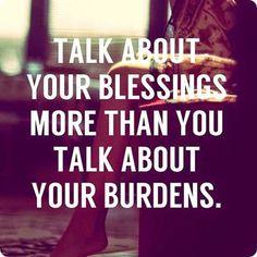 Se é para falar, que seja no positivo!
