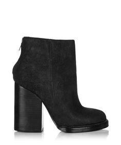 low priced 7158b 81d05 Delire black suede heeled ankle boots by Ash on secretsales.com
