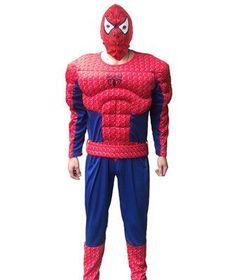 Hot Sale Adult SpiderMan Superman Batman Costumes Spider man Halloween Costume Spider-man Cosplay Suit Free Shipping America