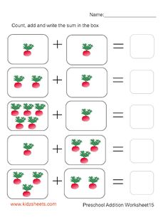Picture Math Worksheets to Print 1st Grade Math Worksheets, Printable Preschool Worksheets, Kindergarten Math Worksheets, Free Preschool, Kindergarten Pictures, Math Sheets, Math Boards, Grande Section, Interactive Learning